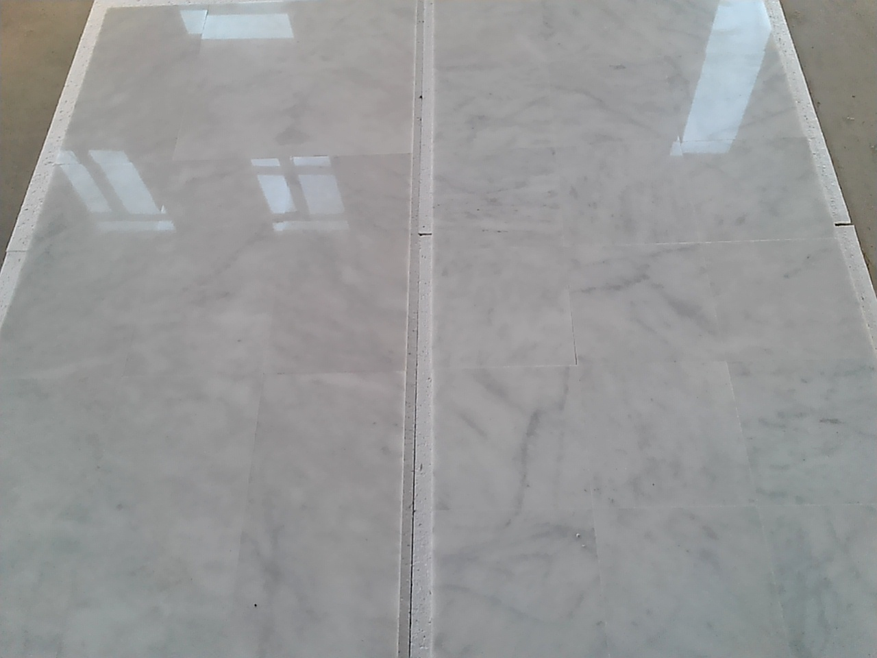 Turkish Carrara White Polished Marble