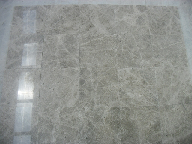 Silver Polished Marble