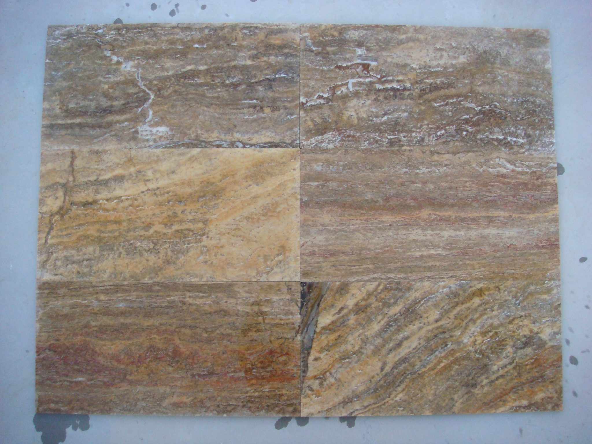 Scabos VeinCut Filled&Honed Travertine