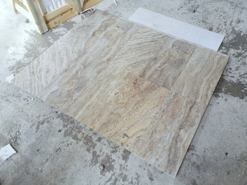 Philadelphia Veincut Filled&Honed Travertine