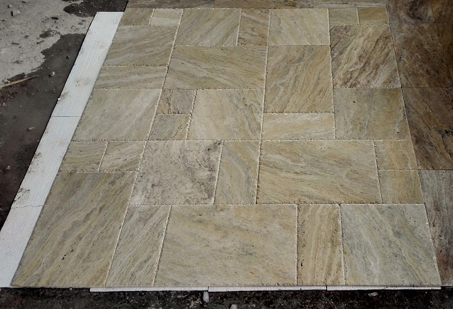 Philadelphia Veincut Brushed&Chiseled Travertine