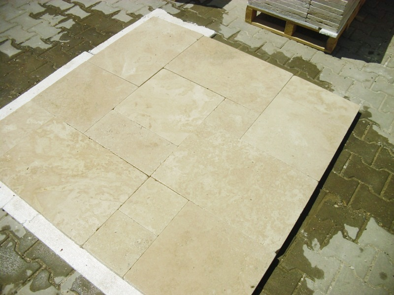 Ivory Light French Pattern Paver Premium