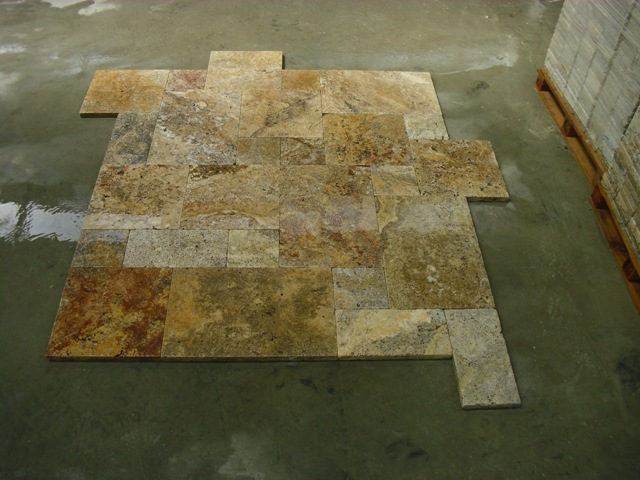 Scabos Rench Pattern Paver